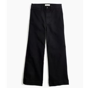 NWT Madewell Emmett Wide-Leg Crop Pants - 25T